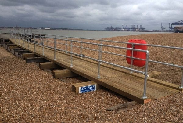 Landguard Jetty Reconstruction