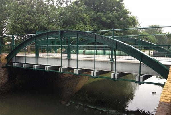 St Lawrence Drive Bridge Refurbishment