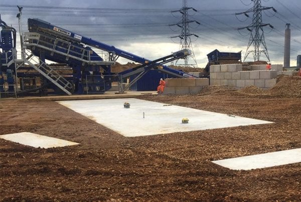 Tarmac Screener Slab, Kingsnorth