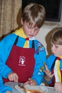 Sainsburys Sctive Kids vouchers used to purchase cooking equipment for our Beaver Scout Group