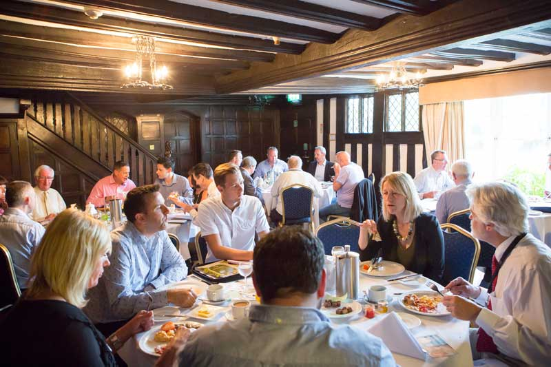 a typical Essex Business Forum Business Networking Meeting