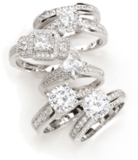 Diamond Rings and other Jewellery from Marcelle Saad Diamonds