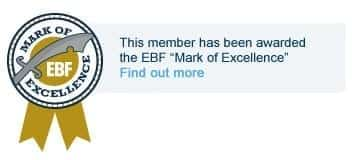 This member has been awarded the EBF Mark of Excellence